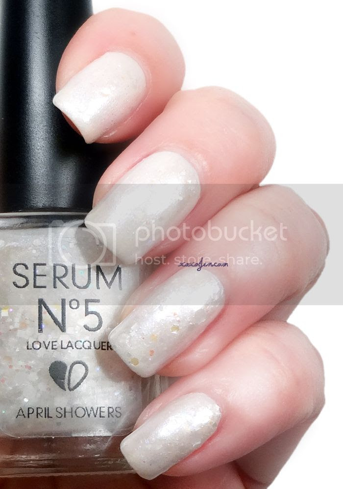 xoxoJen's swatch of Serum No.5 April Showers