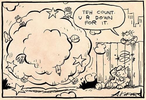 Laugh-Out-Loud Cats #1990 by Ape Lad