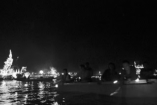 Amphawa - Family river lights