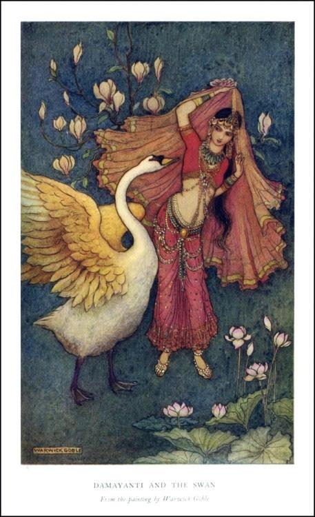nala y damayanti, Mahabharata, mitología india