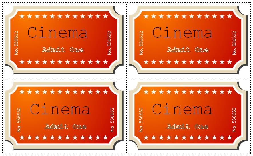 21+ Movie Ticket Templates || Free & Premium Templates |
