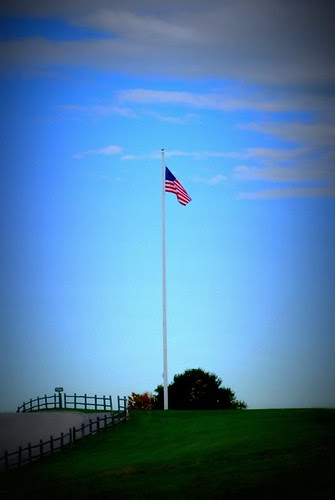 American Flag at Fort Williams Park
