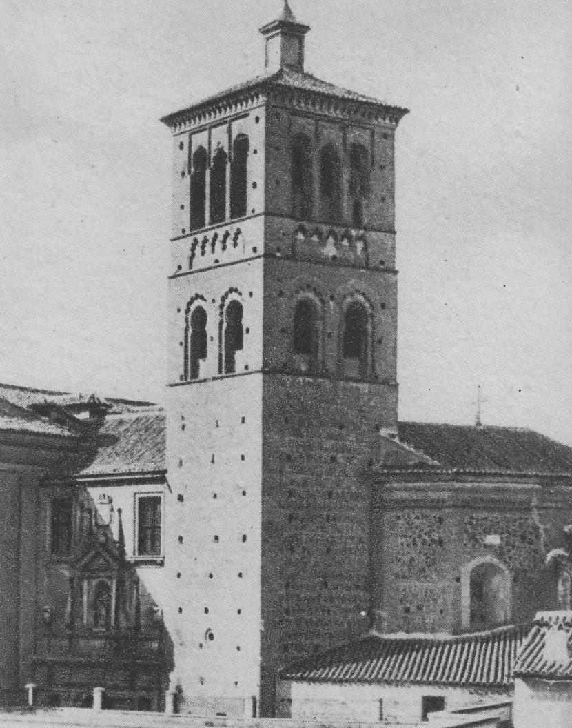 Torre de San Román a principios del siglo XX