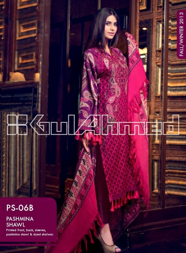 Beautiful-Cute-Girls-New-Fashionable-Dress-Design-by-Gul-Ahmed-Fall-Winter-Collection-2013-14-14