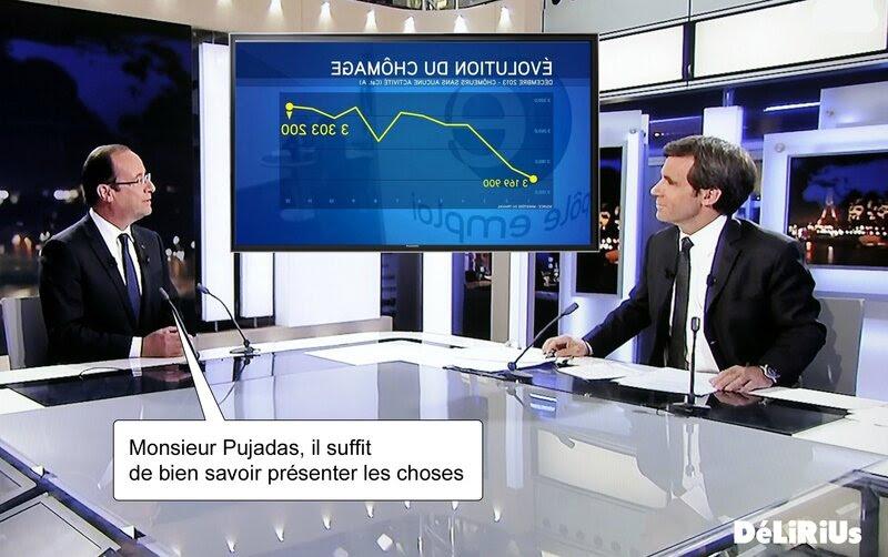 Hollande et Pujadas DéLiRiUs