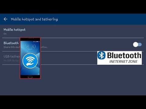 How to share and access internet connection via Androids bluetooth no root (android to android internet share)