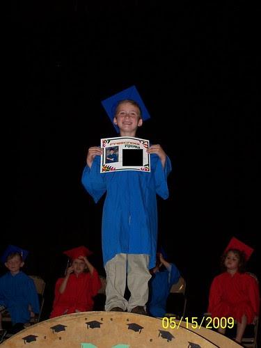 Jacob with diploma