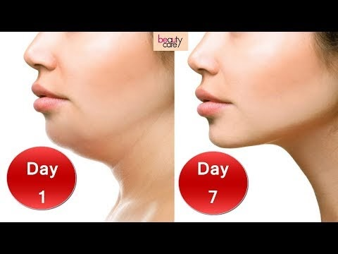 3 Easy Face Exercises for Double Chin Removal and Wrinkles in Hindi