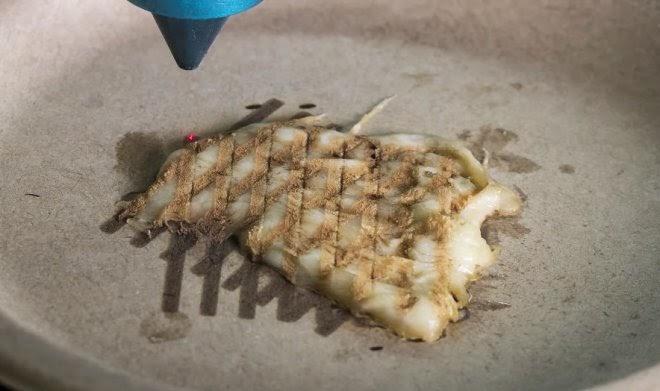 Ученые нашли способ использовать лазеры и 3D-печать для приготовления пищи