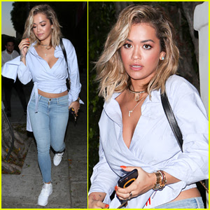Rita Ora Shows Off Her Hot Bikini Bod on Vacation!
