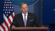 spicer white house briefing afghanistan bomb sot_00000000.jpg