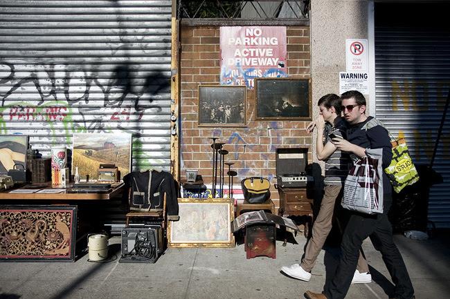 Stoop Sale, East Village