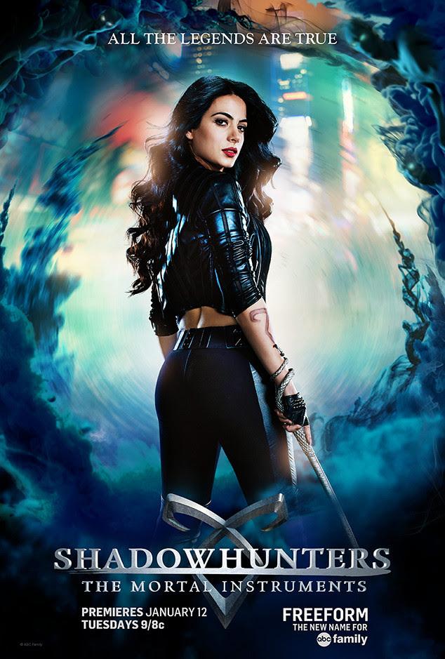 Shadowhunters: The Mortal Instruments Character Posters - Movienewz.com
