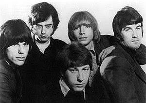 The Yardbirds, 1966. Clockwise from left: Jeff...