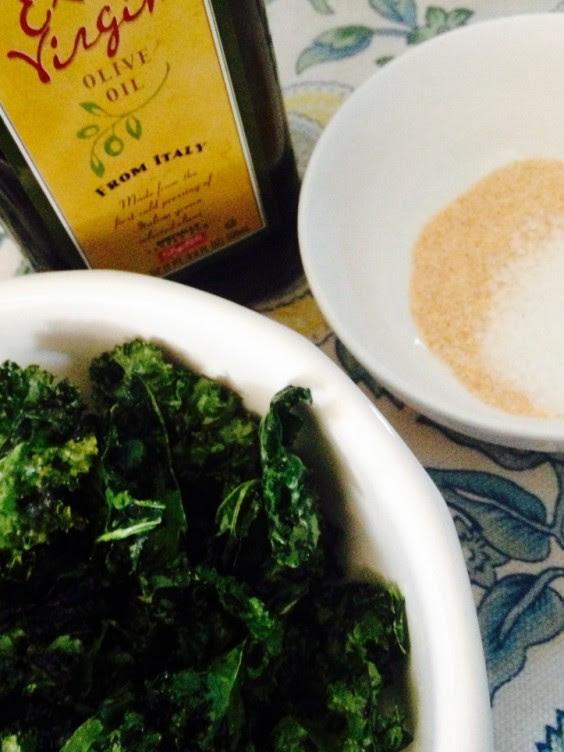 Dorm Food: Microwave Kale Chips
