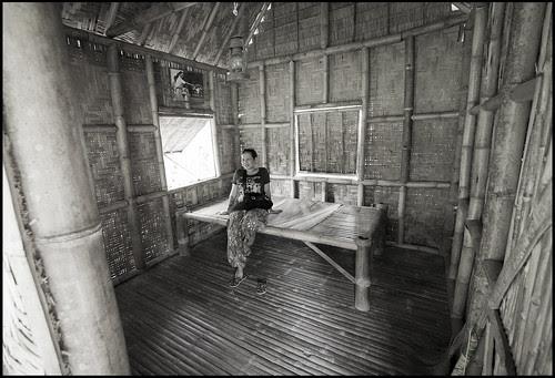 Bamboo House at the Phuket Botanical Garden