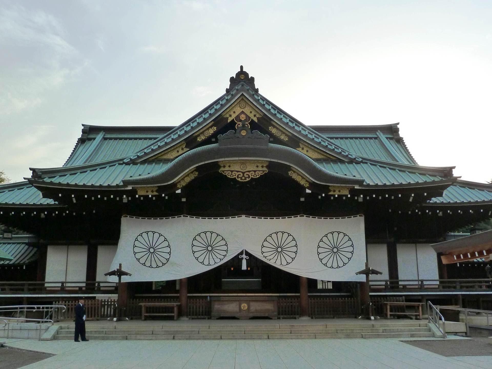 靖国神社 國神社 上総の写真 クリックすると壁紙サイズの写真