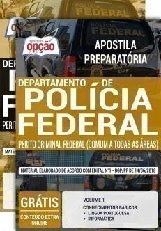 Apostilas Concurso PF Perito Criminal Polícia Federal