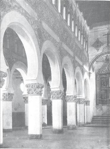Sinagoga de Santa María la Blanca hacia 1925. Revista Tropas Coloniales
