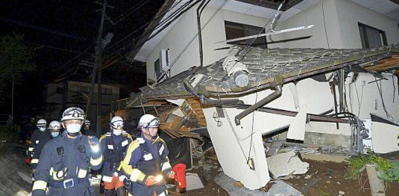 JAPON: Terremoto de 6,7 grados deja más de 30 personas desaparecidas
