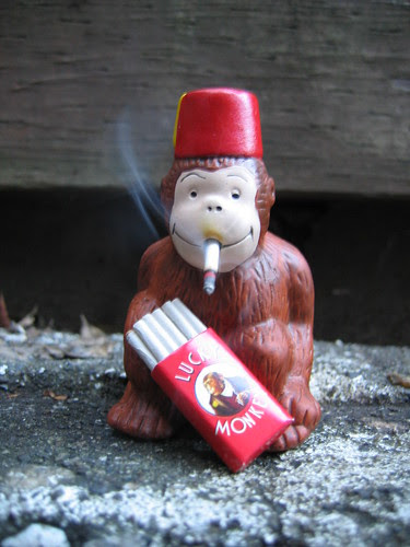 oh, smoking monkey! by Bread Mouth