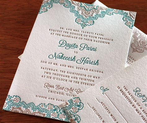 Indian Wedding Invitation Card Design Gallery   Dayita