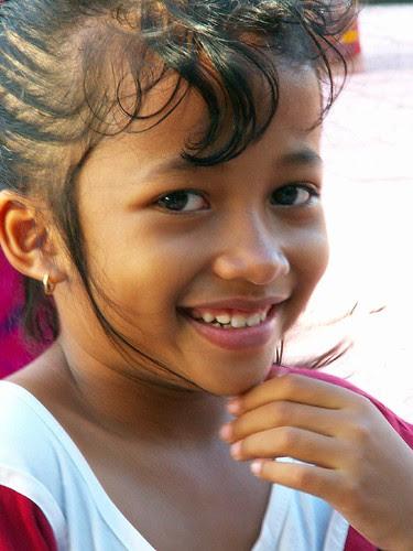 Child on Kuta beach