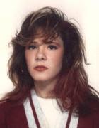 Alessia Rosati in una fototessera poco tempo prima della scomparsa