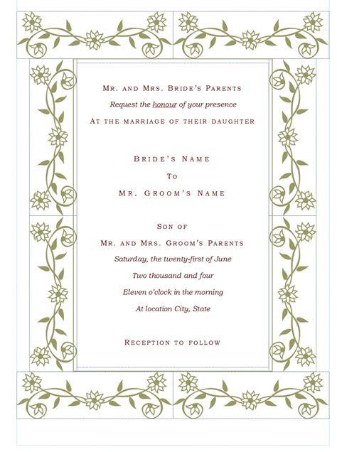 wedding invitation wording wedding invitations html templates