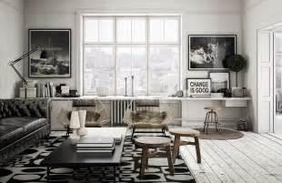 loft living room design interior design ideas