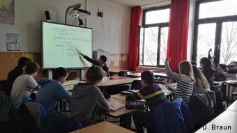 Μάθημα αρχαίων ελληνικών στο γυμνάσιο Μπετόβεν της Βόννης