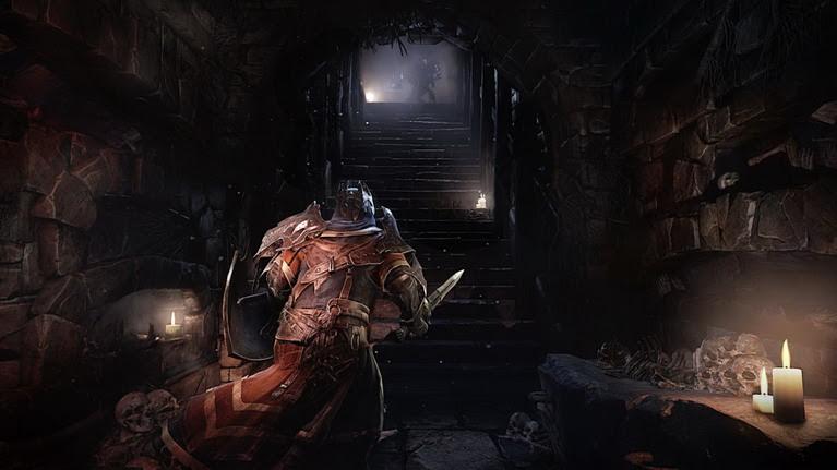 Η ατμόσφαιρα θυμίζει έντονα τα παιχνίδια Souls.