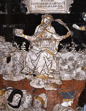 Trecho do mosaico feito pelo artista Bernardino di Betto (Foto: Divulgação/ENIT - Agência Nacional Italiana de Turismo )