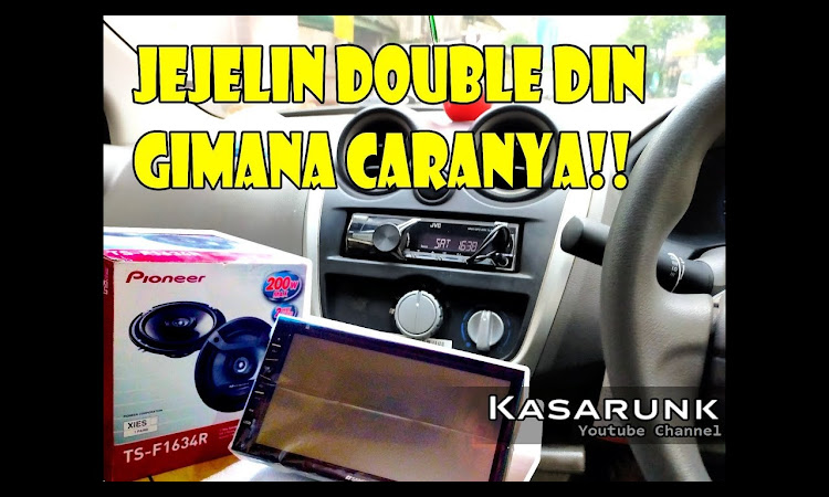 Datsun Go Pasang Double Din, Bisa? | Headunit Nakamichi 3101i | Speaker ...