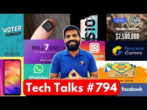 Tech Talks #794 - Realme 3 Pro 64MP, MediaTek 5G India, Redmi 7, S10 Night Mode, PUBG Open