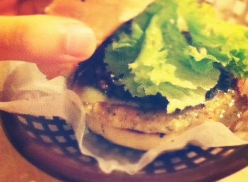 "Tofu Burger, ""Amazeballs"""