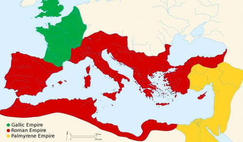 Roman Empire 271 CE