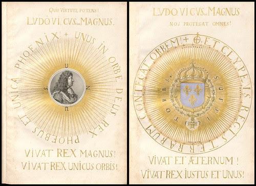 Architectura Regia (frontispiece - titlepage)