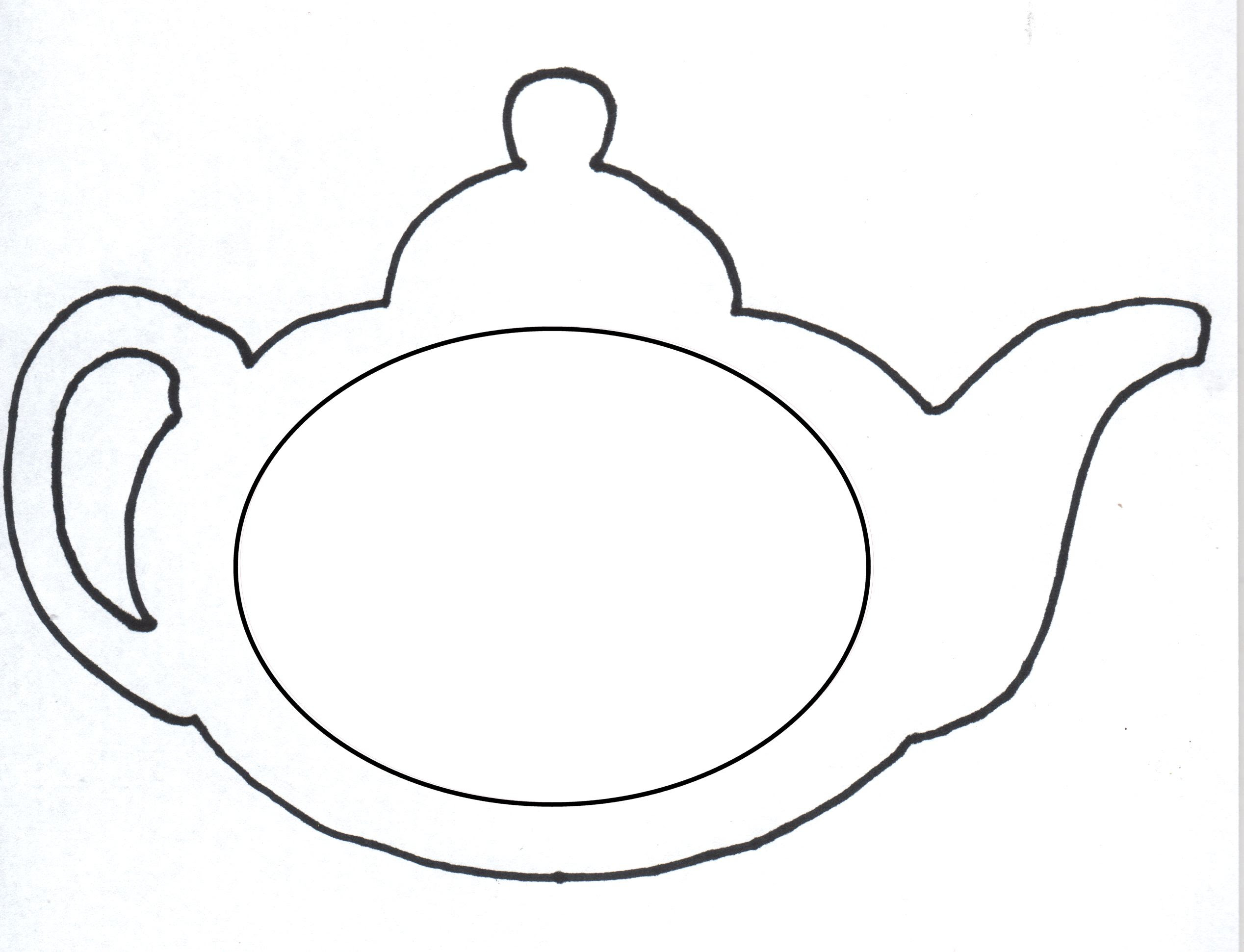 Sample Page Lady Teapot Coloring Page Fun With Tea Clip Art Library