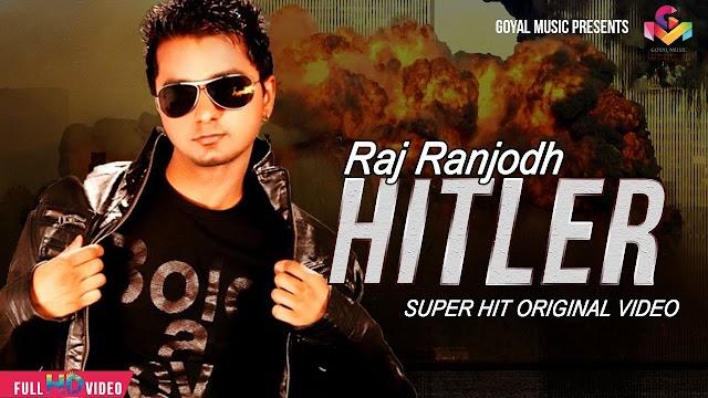 Hitler - Raj ranjodh Lyrics