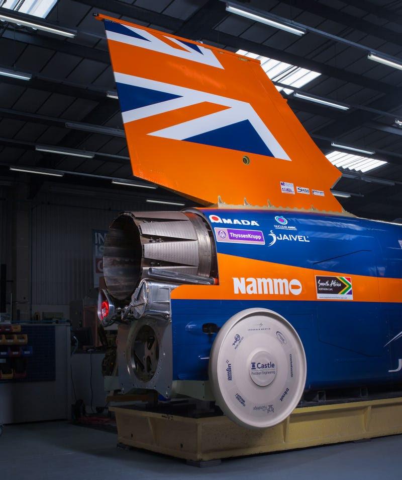 La fascinante ingeniería detrás del auto más rápido del mundo