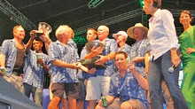 J/122 El Ocaso winning Heineken team