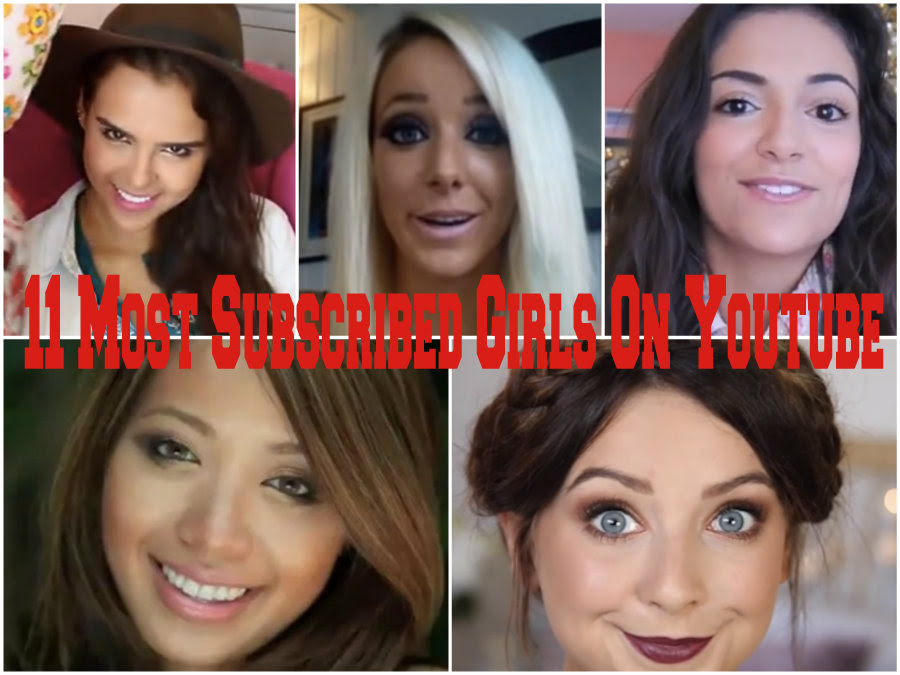 Top 10 Hottest Girl Youtubers