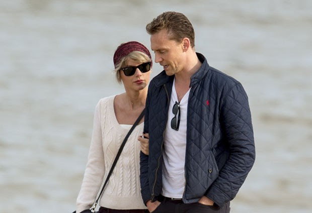 Tom Hiddleston e Taylor Swift (Foto: The Grosby Group)