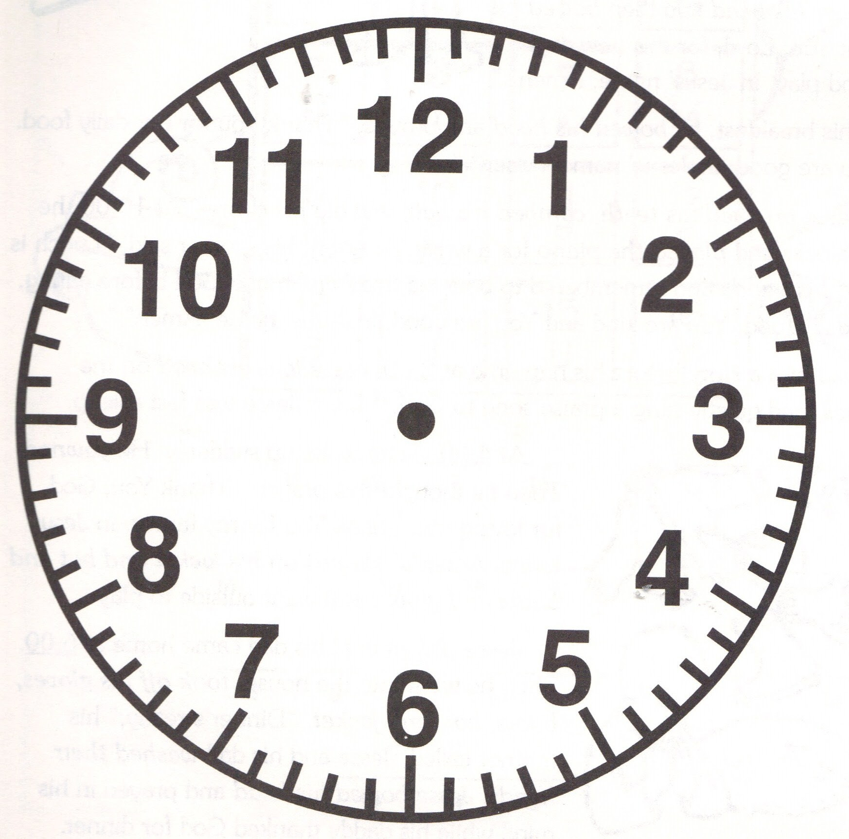 Free Analog Clock Without Hands Download Free Clip Art Free Clip