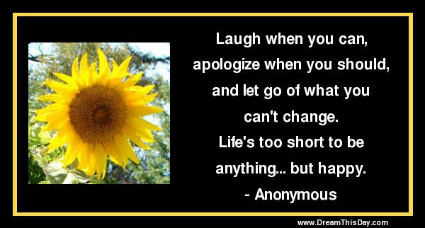 Short Quotes About Life Short Life Quotes