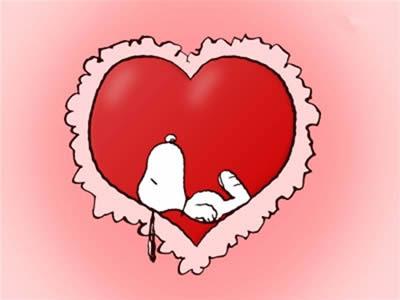 Snoopy El 14 De Febrero Dibujos Animados