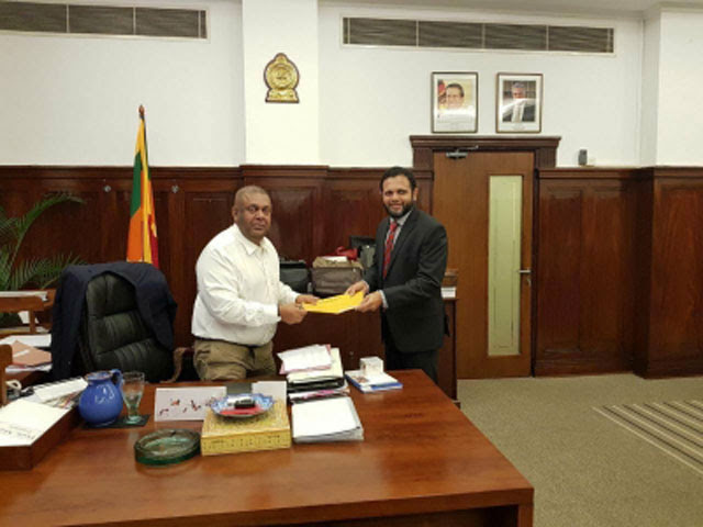 Siddi Mohamed Farook appointed new SLBC Chairman