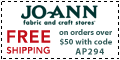 Free shipping at Joann.com! Code: AP228