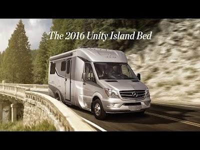 RV videos: Pleasure-Way Unity Island Bed, Keystone Fuzion FastTrack2 Patio System, RV Winterizing by Nexus RV, and Winnebago Cambria 30J